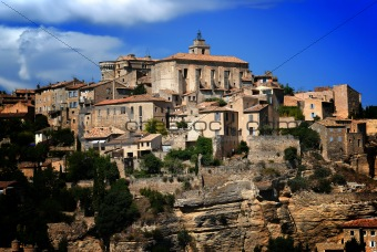 Ancient Medieval Hilltop Town of Gordes in France 3