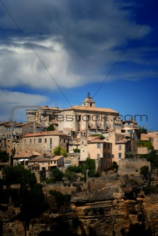 Ancient Medieval Hilltop Town of Gordes in France 4