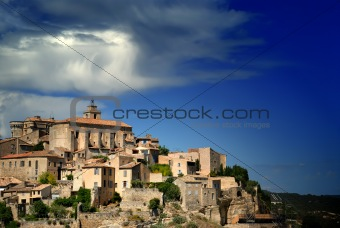 Ancient Medieval Hilltop Town of Gordes in France 6