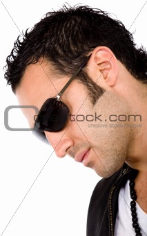 fashion male portrait - sunglasses