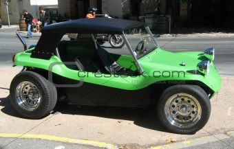green buggy