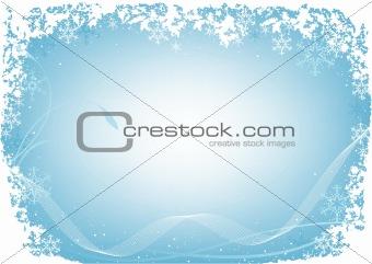 Xmas Blue Frost