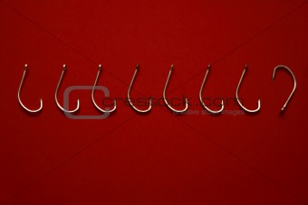 Fishing Hook Series (Odd one out)