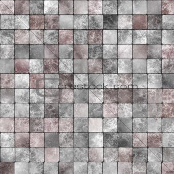 Artistic glossy tiles
