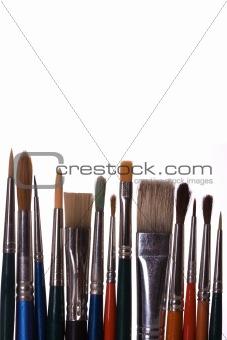 Old paintbrushes