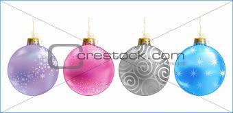 christmas colour balls