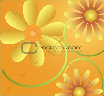Abstract  artistic vector  background illustration