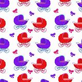 Background, baby carriages