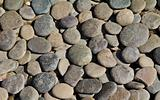 Pebble stone background.