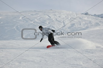 skiing on on now at winter season