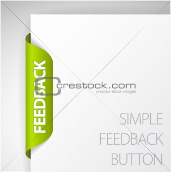 Feedback sticker