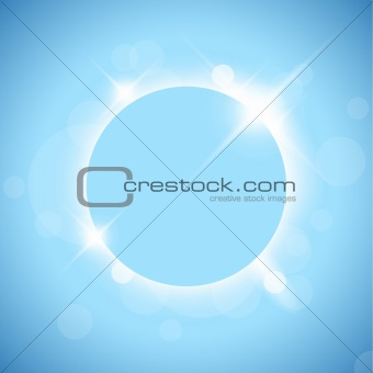 Abstract background - sun eclipse