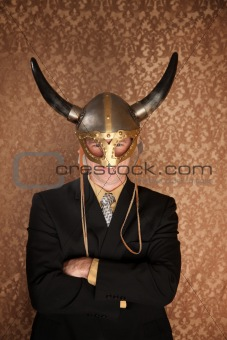 Viking Businessman