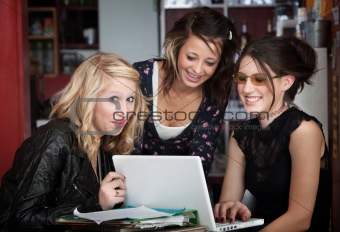 Giggling College Girls