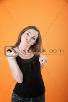 Funny Woman Dancing