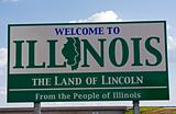 Illinois Welcome Sign