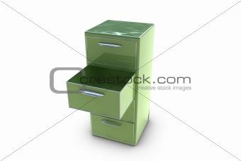 3D filing cabinet