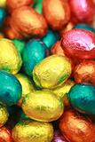 Chocolate Eggs A Traditional Easter Sweet.