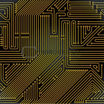 Image 3609692: Computer circuit board seamless pattern. from ...