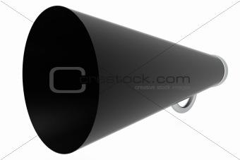 Old megaphone