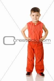 Boy standing