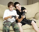 Brothers Play Video Games