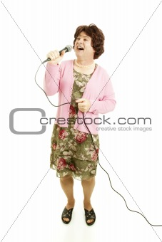 Singing Female Impersonator