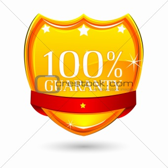 100% Guaranty Badge