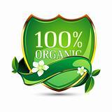 100% Organic Tag