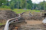 Bended track