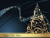 Happy New Year  background