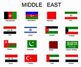 List of all flags of Middle Asia countries