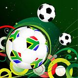 South Africa Soccer Background