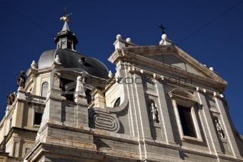 Cathedral Nuestra Senora de la Almudenal in Madrid