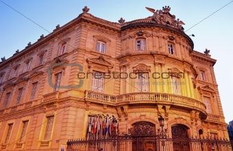 Palacio de Lineares in Madrid