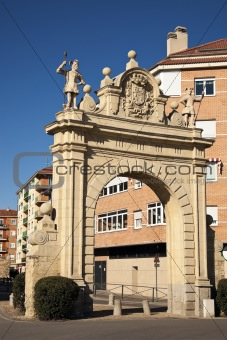 Arch in Segovia