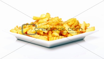 Potatoes fry