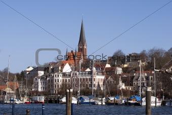Flensburg skyline