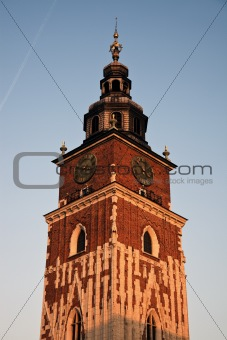 Town Hall Towerin Krakow