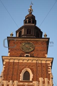 Town Hall Towerin Krakow