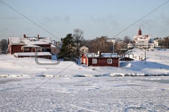 Helsinki seen from Baltic Sea