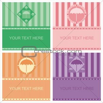 cute umbrella frames