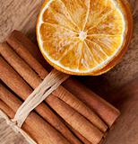 Cinnamon and dried Orange