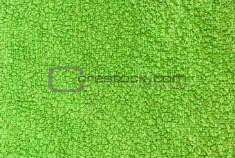 green terry texture