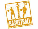Basketball stamp