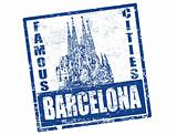 barcelona stamp