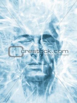 Iced man