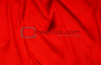 Bright satin fabric folded to be used as background