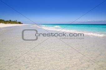 beach paradise white sand turquoise Tulum