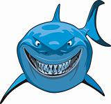 Blue Sharks Cartoon